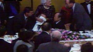President Bush Once Vomited On Japanese Prime Minister And Collapsed During State Banquet