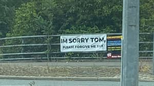 Mystery Sign On UK Motorway Leaves People Desperate For Answers