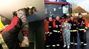 Woman Falls Through The Ceiling During Hunt For Christmas Decorations