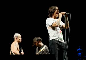 Red Hot Chilli Peppers' Anthony Kiedis Has Been Hospitalised