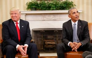 Trump Claims There's 'No Way' Obama Would Have Beaten Him In An Election