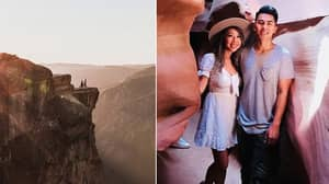 Photographer Tracks Down Couple In Amazing Proposal Photo