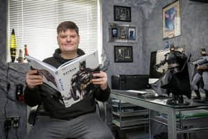 Man Creates Epic Batcave To House £15,000 Worth Of Memorabilia
