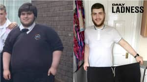 Student Sheds More Than Half His Weight In A Year, Leaving Him Unrecognisable