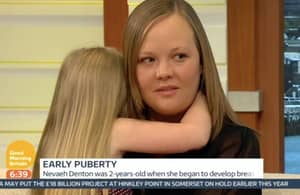 Mum Criticised For Taking Four-Year-Old Daughter On TV Because She's Developed Breasts
