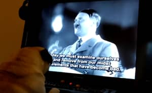 Lad Arrested For Teaching Dog How To Do A Nazi Salute