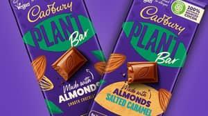 Cadbury Is Launching Its First Ever Vegan Chocolate Blocks