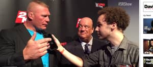 WATCH: Brock Lesnar Says He 'Takes Shits Bigger' Than Conor McGregor