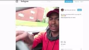 Driver Raps And Waves Gun While Toddler Passenger Has No Seat Belt