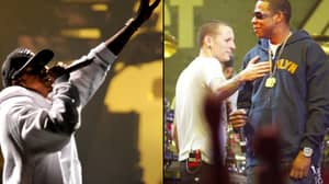 Jay-Z Ends V Festival Set With Special Tribute To Chester Bennington
