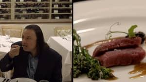 Sascha Baron Cohen Convinced A Food Critic He Was Eating Human Flesh
