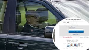 Prince Philip's 'Car Crash Parts' Are Being Sold To Highest Bidder On eBay