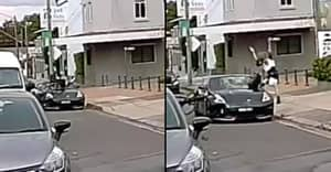 Footage Showing Car Hitting Cyclist Sparks Debate On Who Was In The Wrong