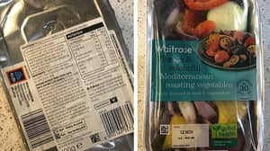 Couple Shocked When Waitrose Roast Vegetables Arrive With Aldi Logo On