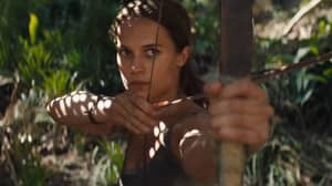 The New 'Tomb Raider' Movie Poster Is Weirding People Out