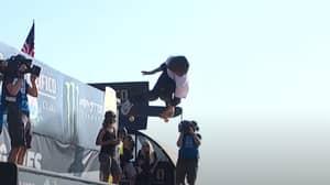 Skateboarder, 12, Lands Record-Breaking Vert 1080 In Front Of Tony Hawk