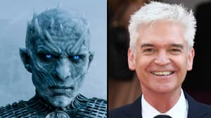 Phillip Schofield's Night King Transformation In Front Of Holly Willoughby Is Unreal