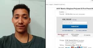 Man Who Sold 'AK47' Fiver For £80,000 On eBay Is Trolled By The Winner