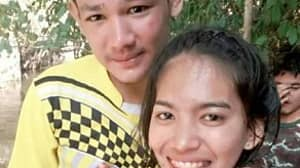 Woman Stands By Cancer-Stricken Boyfriend As Tumour Takes Over His Face