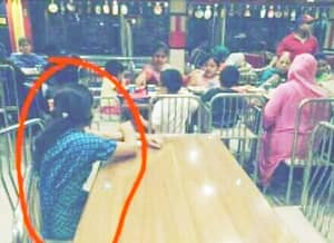 Wealthy Indonesian Family Forced Maid To Sit And Eat On Another Table