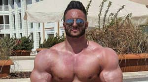 Bodybuilder Hits Back At Claims His Huge Muscles Are Photoshopped