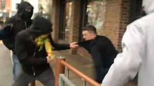 Former EDL Leader Tommy Robinson 'Attacked' Outside McDonald's