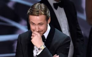 Ryan Gosling's Reaction To The Oscar's 'Best Picture' Mess-Up Was Priceless