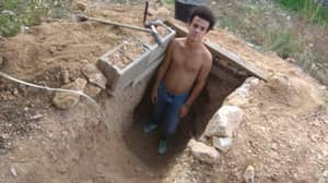 Teen Spends Six Years Digging Underground Cave In Garden After Fight With Parents