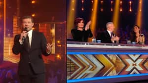 Dermot O'Leary Takes A Dig At Simon Cowell Following His Fall Down Stairs