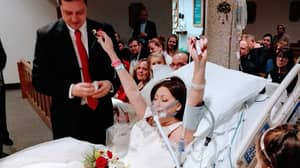 Woman's Last Words Are Her Wedding Vows As She Marries In Hospital