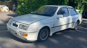 Ford Sierra Kept In Barn For 28 Years Sells At Auction For £80,000