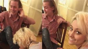 Macaulay Culkin And Paris Jackson Get Matching Tattoos