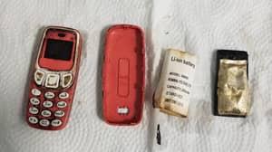 Man Somehow Swallows Nokia 'Brick' Phone