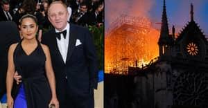 French Billionaire François-Henri Pinault Pledges €100m To Help Rebuild The Notre Dame
