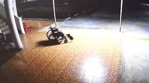 Ghost 'Caught Using His Old Wheelchair' In Creepy Footage From Hospital