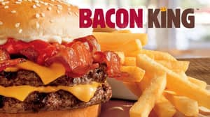 Burger King's New 'Bacon King' Burger Contains Eight Slices Of Bacon
