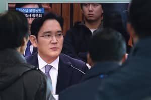 Samsung's Acting Chief Is Arrested Over Blackmail And Bribery