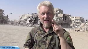 Mancunian Actor Plays Ariana Grande Song Loud in Former ISIS Stronghold