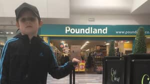 Dad Tricks Son Into Thinking He's Going to Disneyland, Actually Takes Him To Poundland
