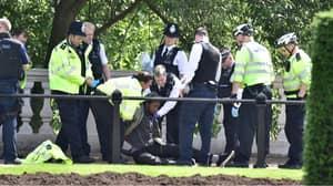 Knife-Wielding Man Arrested Near Buckingham Palace
