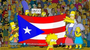 'The Simpsons' Uses Final Moments Of Season Premiere To Ask People To Support Puerto Rico