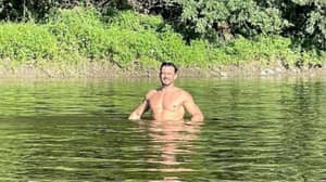 Orlando Bloom Goes Naked Swimming Again Five Years After Infamous Photo