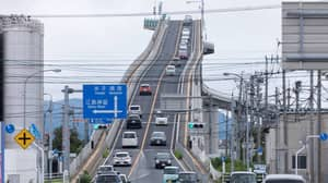 Man Shows Why 'Impossibly Steep' Motorway Bridge Is Optical Illusion