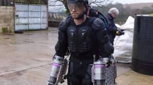 British Inventor Creates Real-Life Iron Man Suit