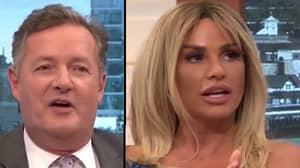 Piers Morgan Just Slyly Called Katie Price A 'Talentless Cretin'