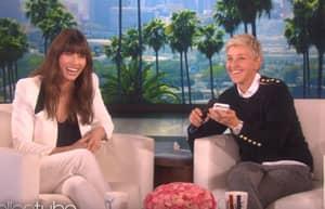 Ellen DeGeneres Rings Up Justin Timberlake To Say Jessica Biel Is Pregnant