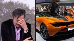 Richard Hammond Destroyed A £200,000 McLaren After Putting Water In Petrol Tank