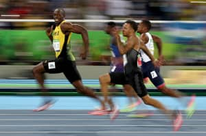 Usain Bolt Gets Gold While Pulling The Face Of The Games