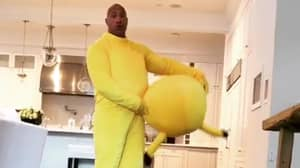 Ultimate Dad The Rock Dresses Up As Pikachu For Daughter