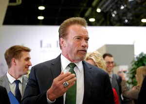 Arnold Schwarzenegger Says Looking In The Mirror Makes Him Puke
